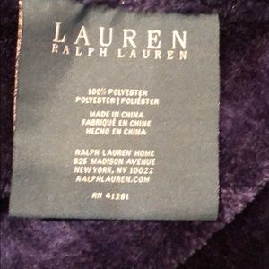 Ralph Lauren Bedding - Ralph Lauren throw blanket 💙